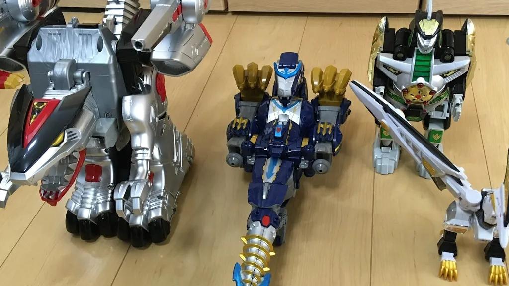 超级战队 追加龙系列 合体机器人