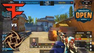 FaZe vs NIP - DreamHack