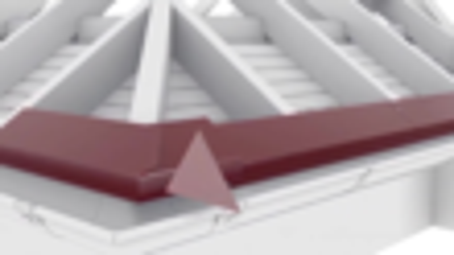 动画演示房顶施工过程,全是螺丝钉固定,防水靠谱吗