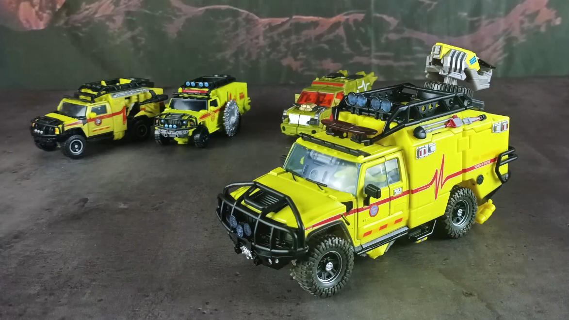 变形金刚MPM11大师级救护车把玩分享