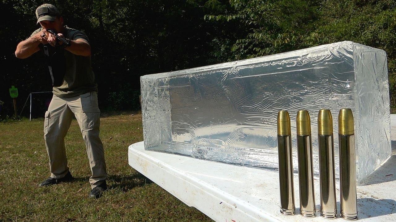 [Kentucky Ballistics]猎象枪凝胶测试