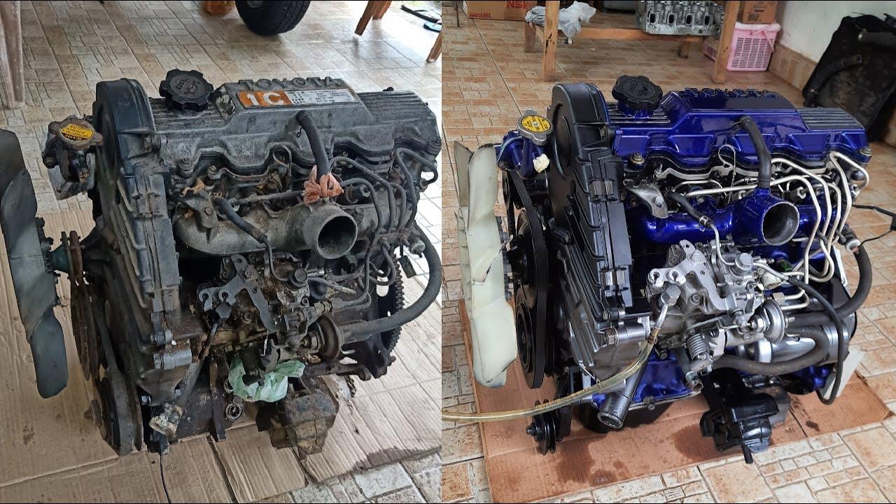 丰田1C发动机全翻新