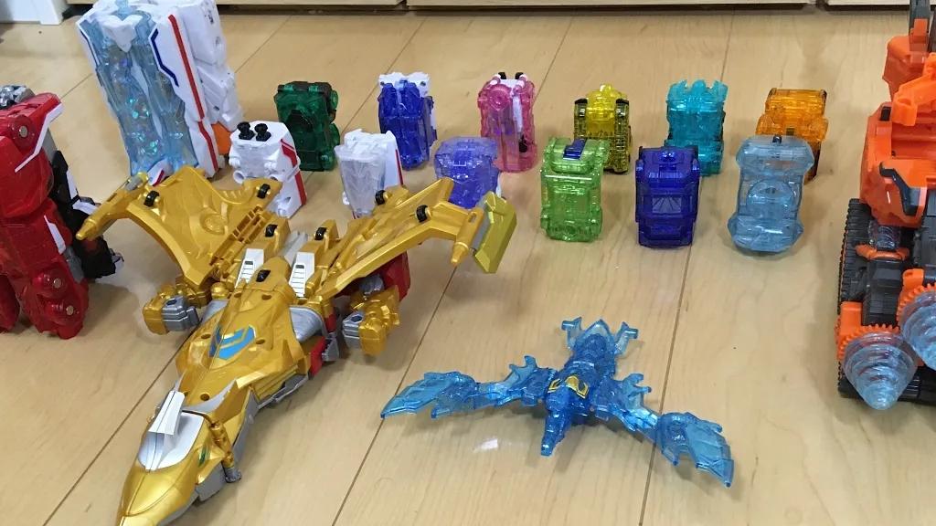 魔进战队 DX 宝石全家桶  变形合体