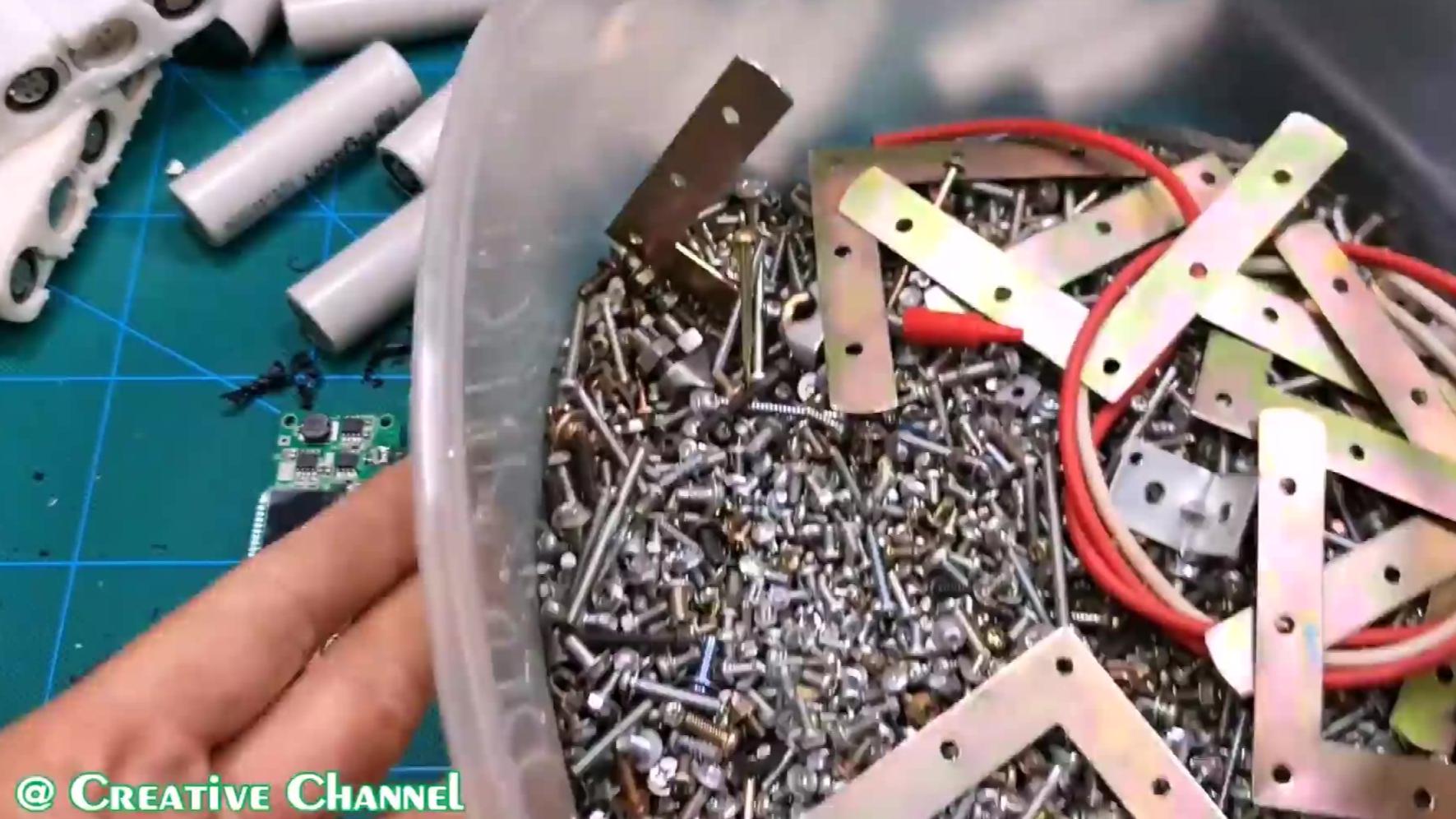 组装一个45000毫安充电宝,不怕手机没电了
