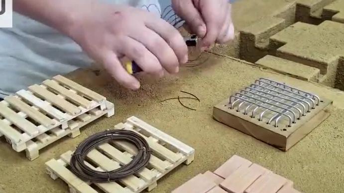 创意微型制作:DIY微型别墅,真想变成小人进去体验一番