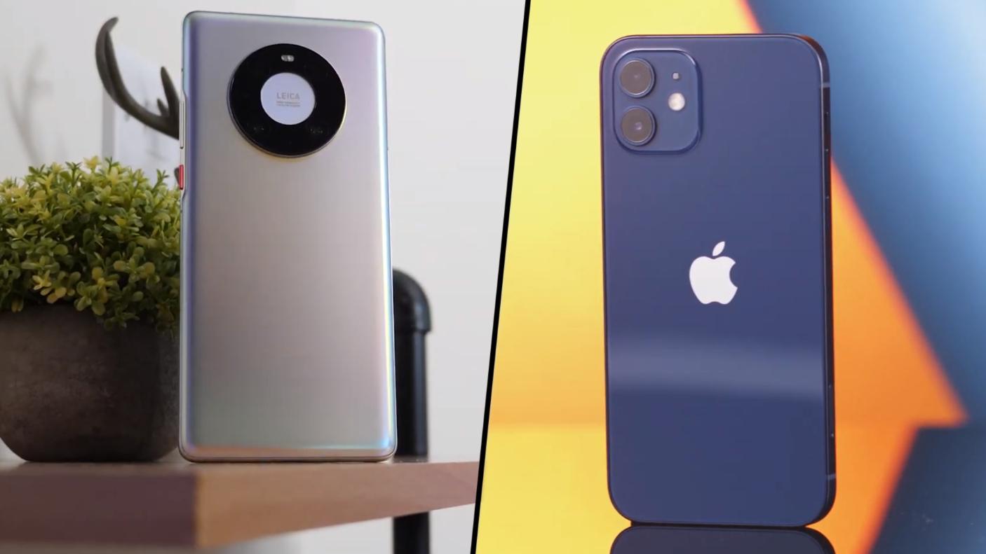 为什么相比iPhone12,更推荐华为Mate40系列?