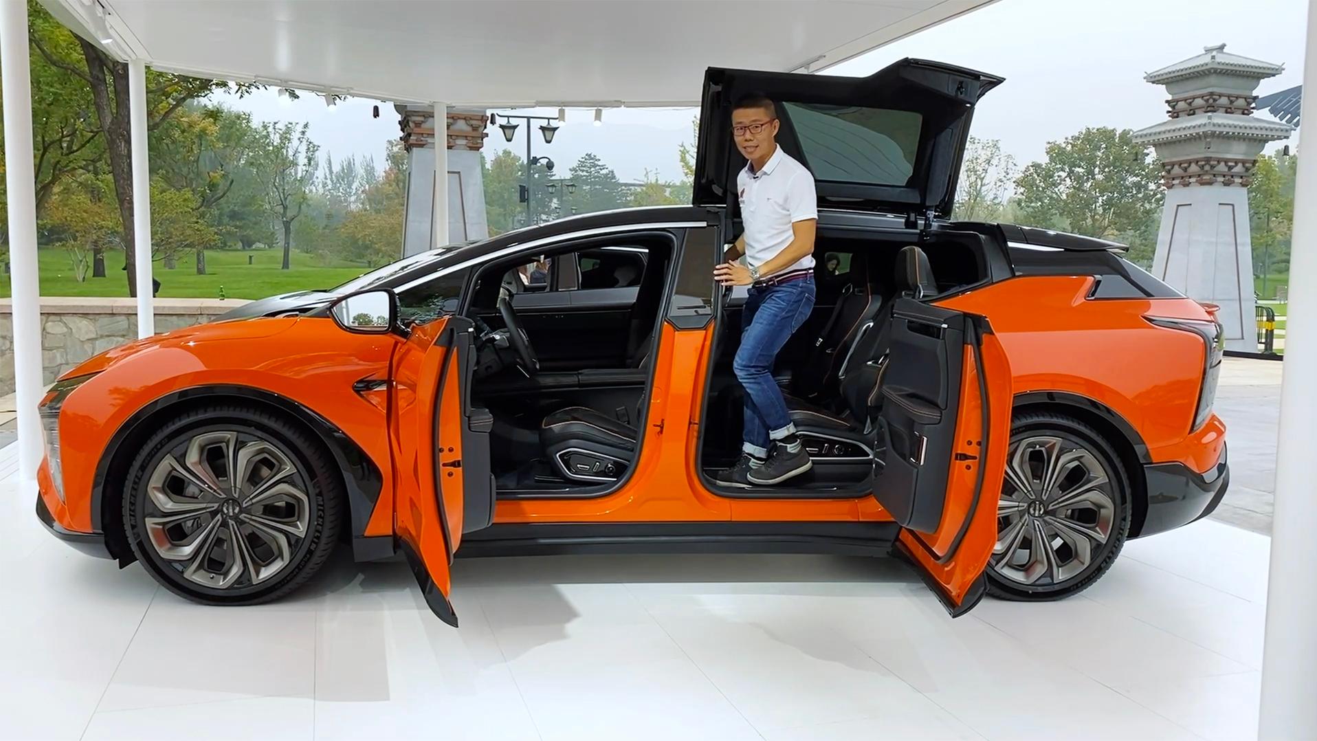 80万的国产车,高合HiPhi X这是想碾压特斯拉?