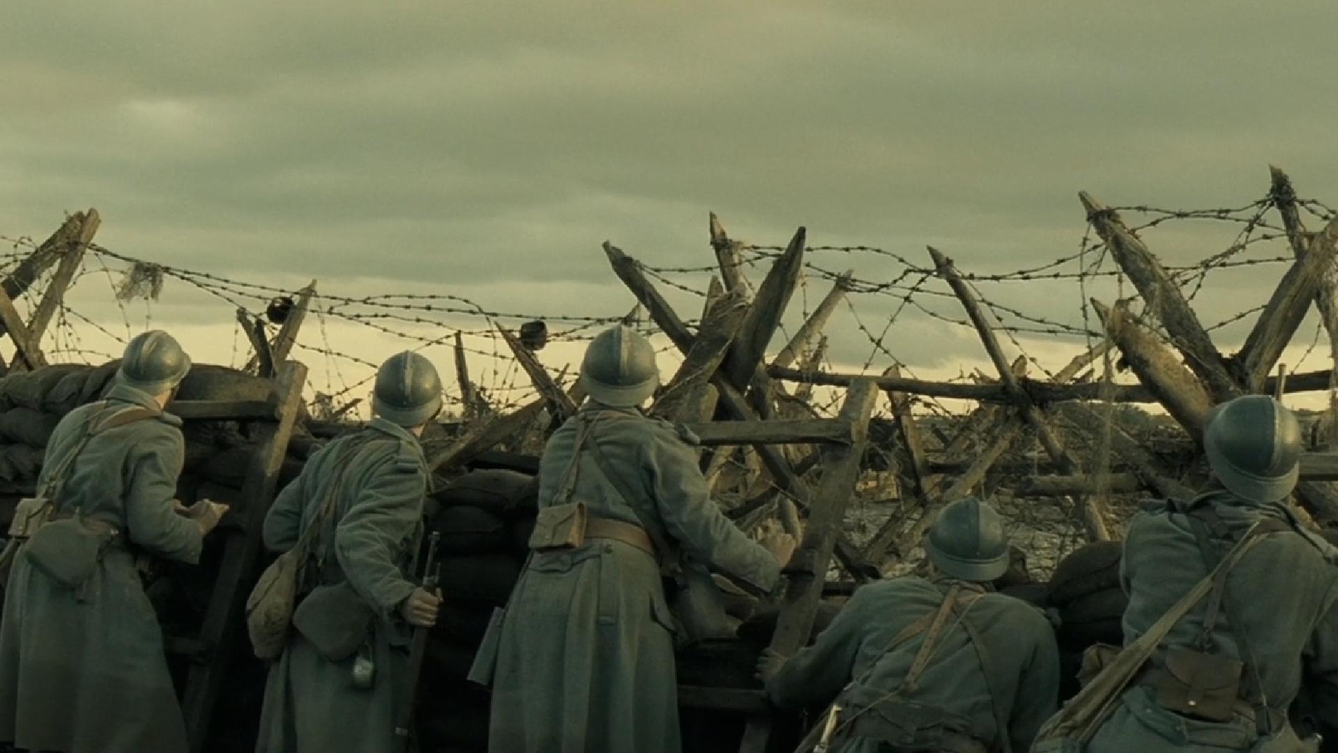 一部震撼到我的法国电影,五个怯战的士兵,被扔到交战区