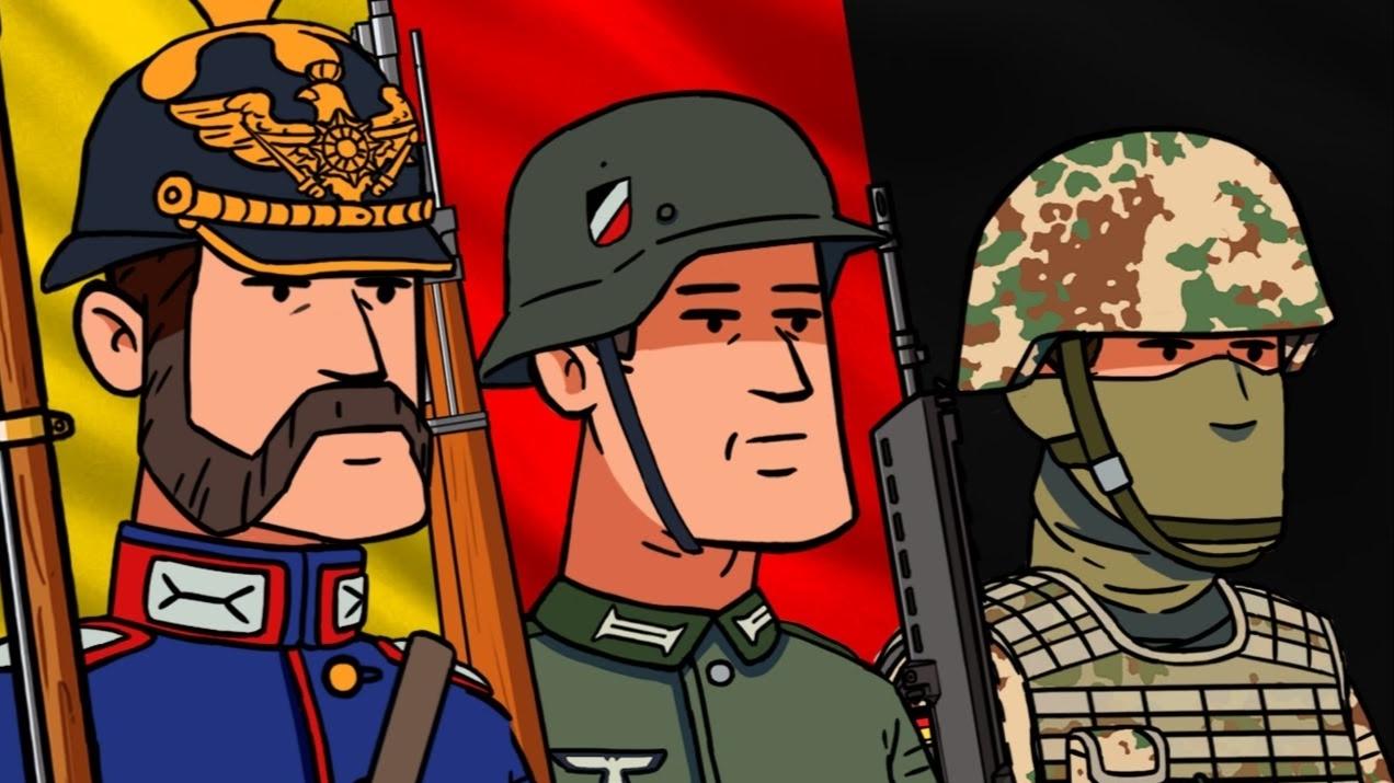 9分钟看完德意志军服变迁史:一个帝国的风雨兴衰