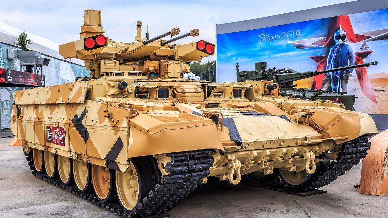 【讲堂582期】俄罗斯陆军死亡联合收割机,重装甲强火力的BMPT坦克支援战车