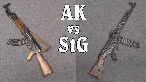 【被遗忘的武器/双语】AK vs StG--设计思路与实战用途对比