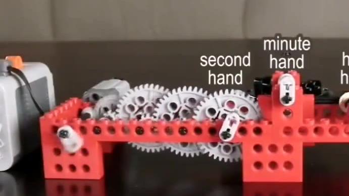 再快的速度抵不过齿轮多,好神奇的减速装置,长见识了