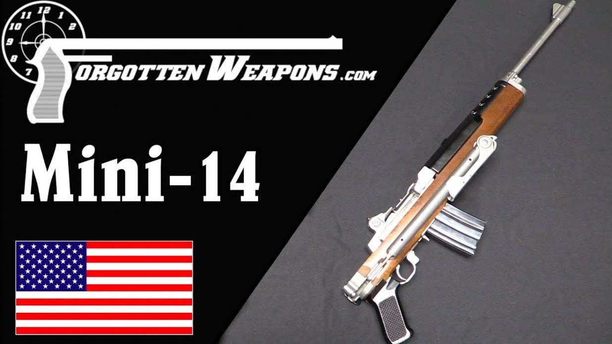 【被遗忘的武器/双语】Mini-14: 勒紧裤带的M14