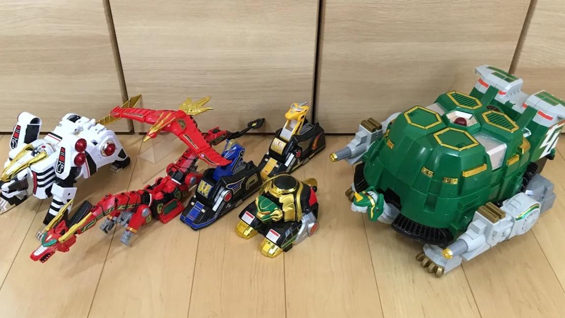 五星战队  DX  超级大乌龟 玄武大合体