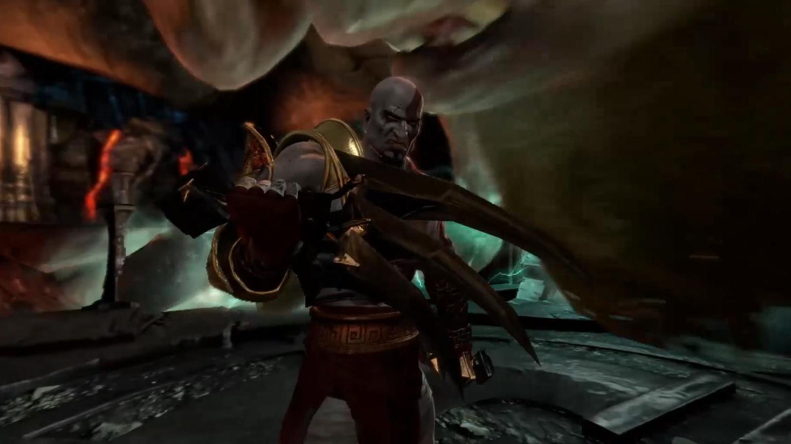 【红兜帽HD】《战神3重制版》泰坦难度流程解说 第六期