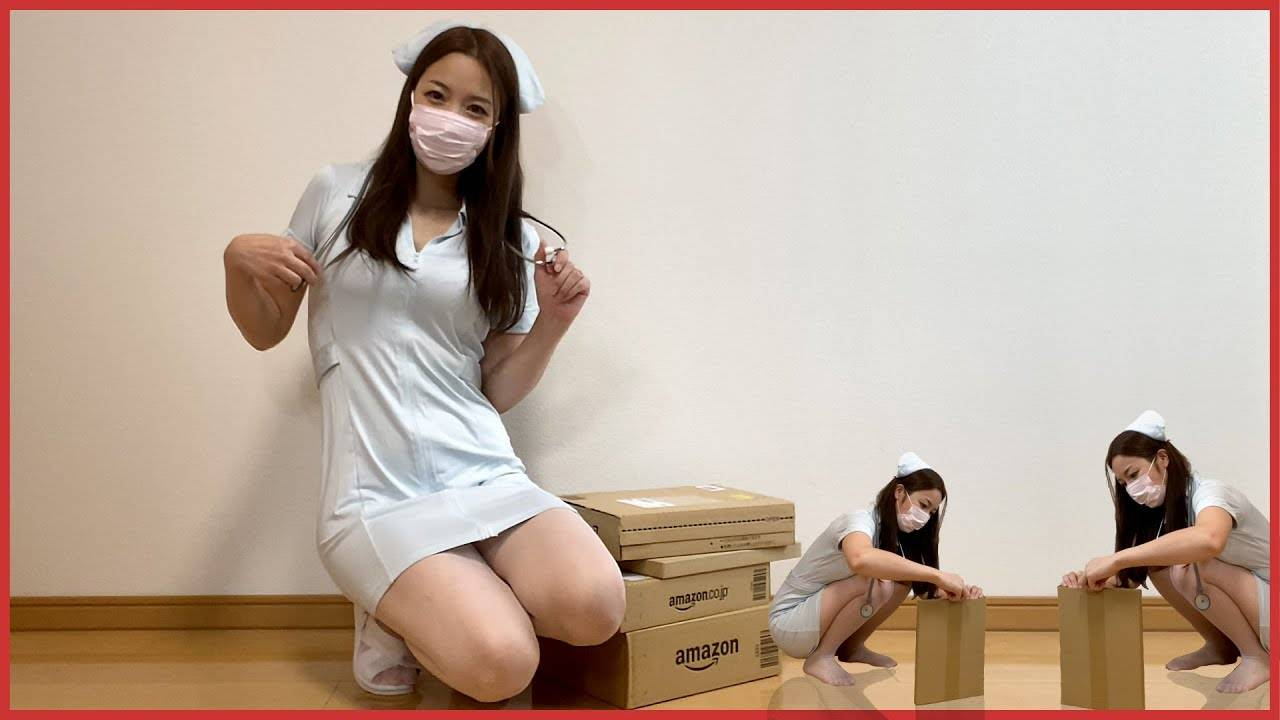 【试穿】日本小姐姐开箱Burberry长筒袜、紧身裙