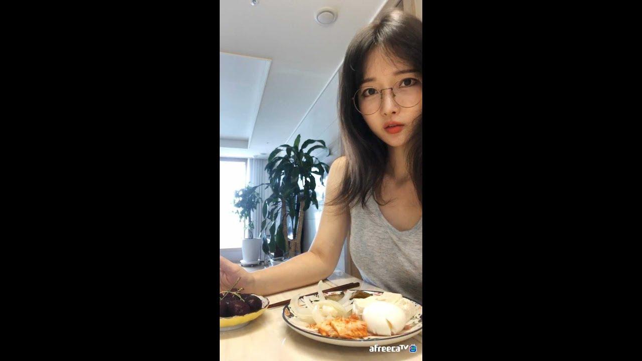 韩国小姐姐减肥的第7天,煮鸡蛋+豆腐+洋葱+茄子+樱桃