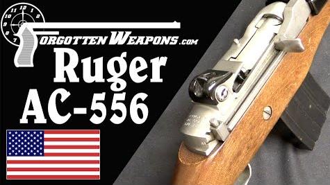 【被遗忘的武器/双语】AC556--鲁格的穷人版突击步枪