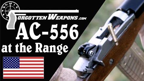 【被遗忘的武器/双语】靶场上的AC556--M16的有力竞争队手?