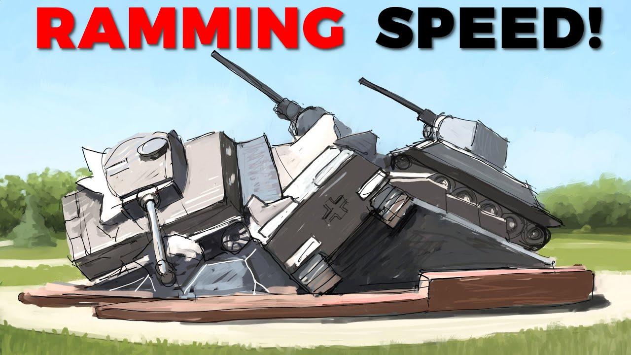 【MHV】坦克碰碰车?和酋长谈谈坦克撞击战术