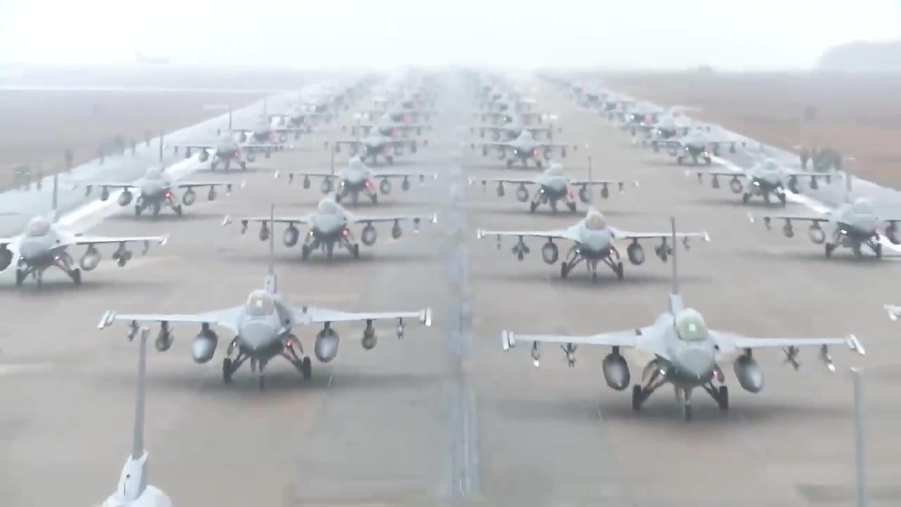 最大最繁忙的美国空军基地