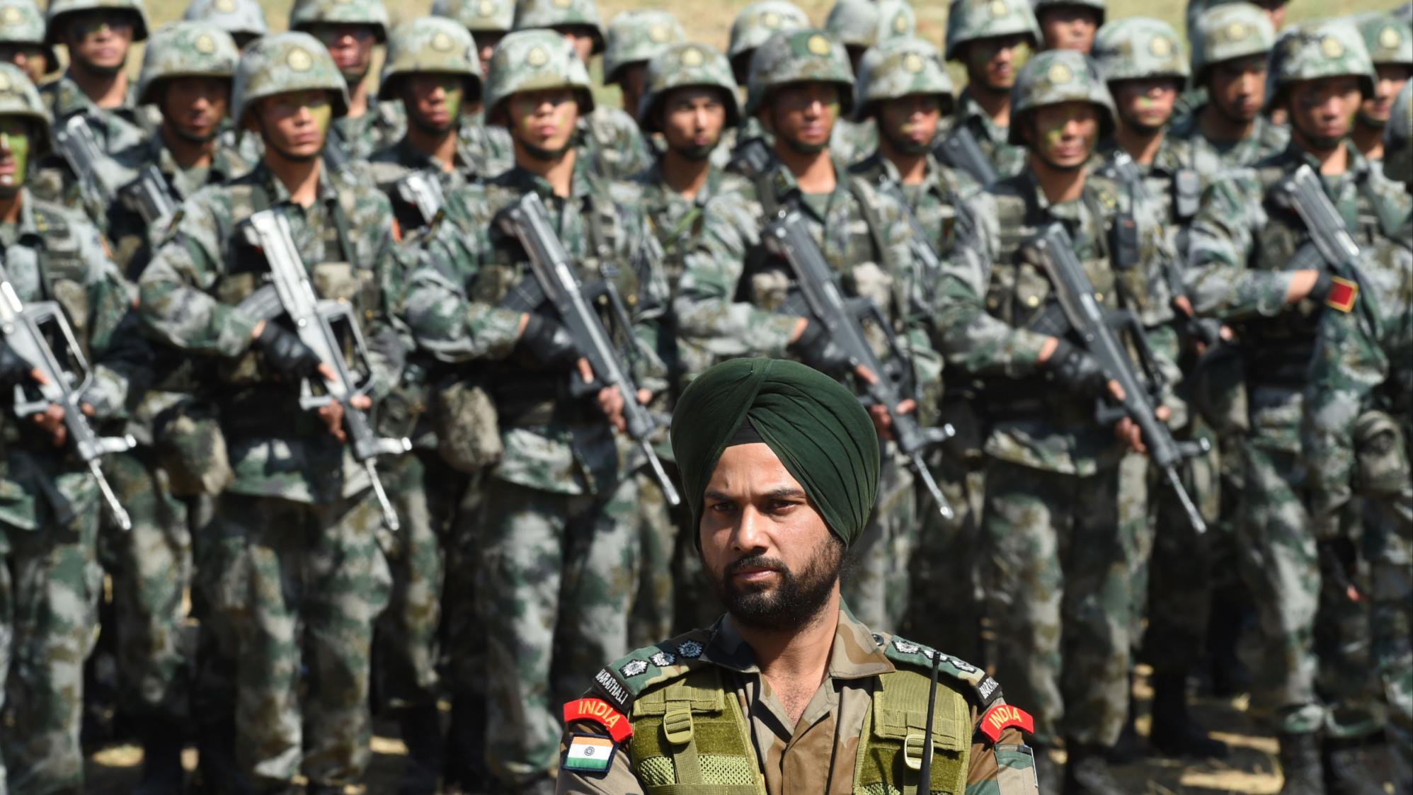 """印度失去""""争议土地""""控制?中国边防军人站在哪,哪里就是国境线"""