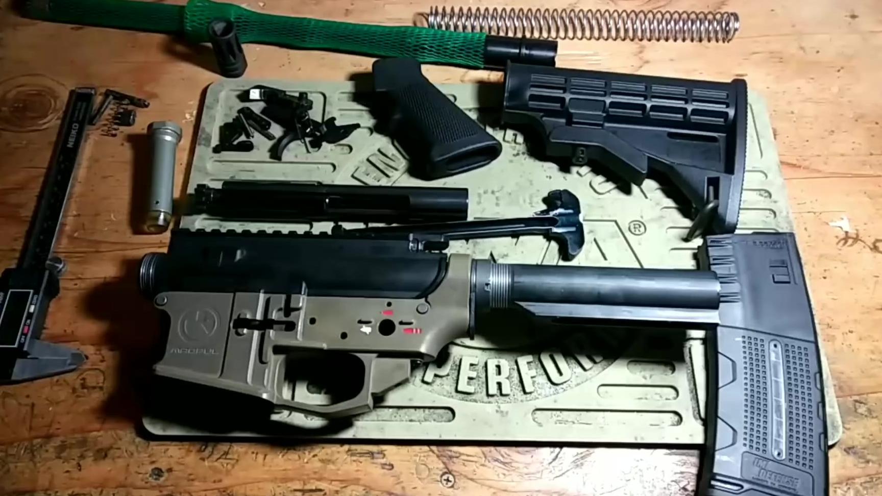 流言终结者:Airsoft GBBR玩具部件组装真枪是否可行?