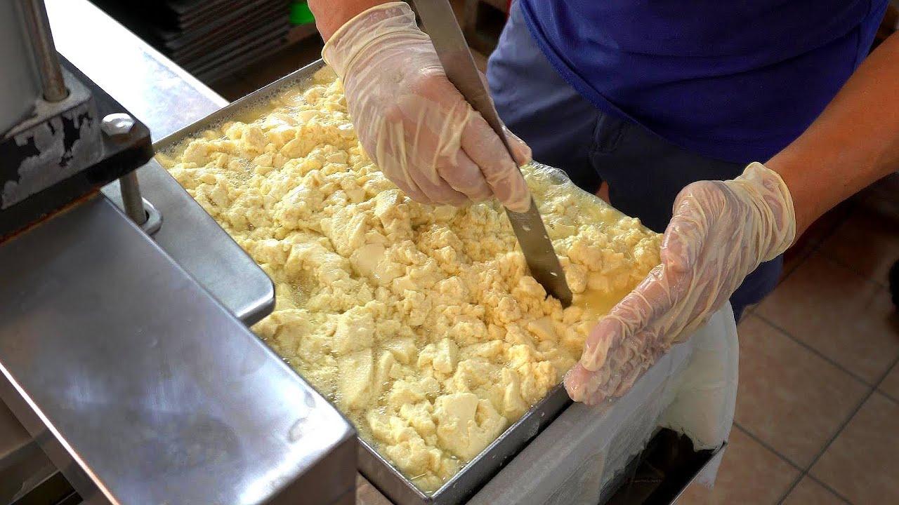 天然盐卤板豆腐,嫩豆腐制作 - 台湾美食