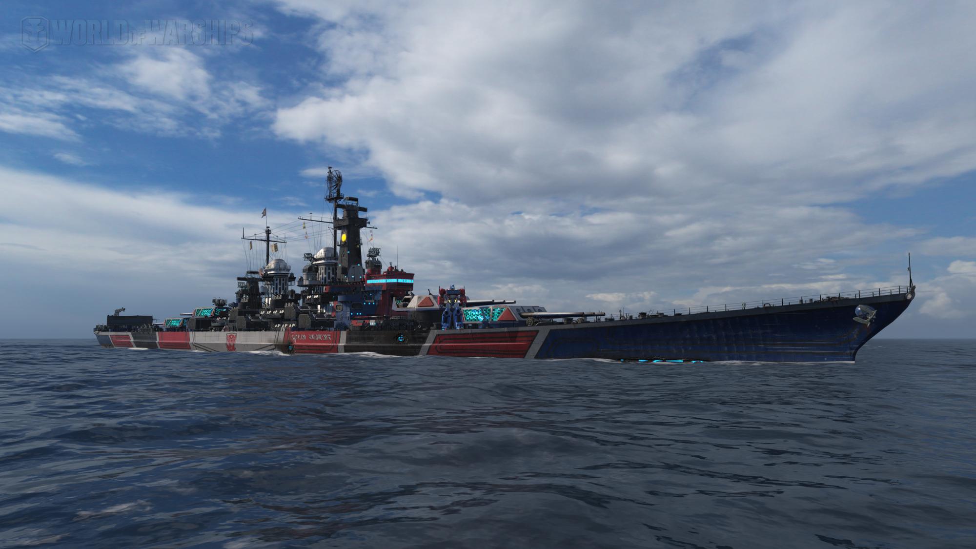 《战舰世界》馒头船长 美国战列舰蒙大拿反败为胜精彩实况