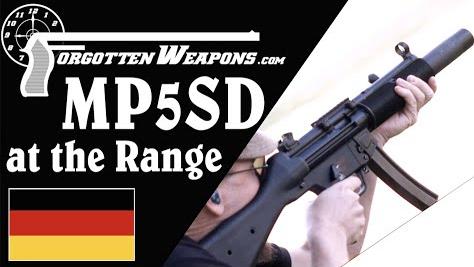 【被遗忘的武器/双语】靶场MP5SD -  亚音速弹 vs 超音速弹