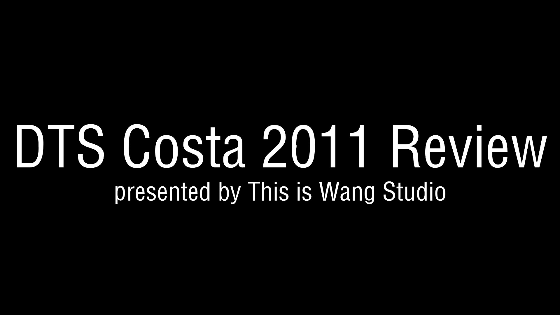 D.T.S Costa 2011 Review