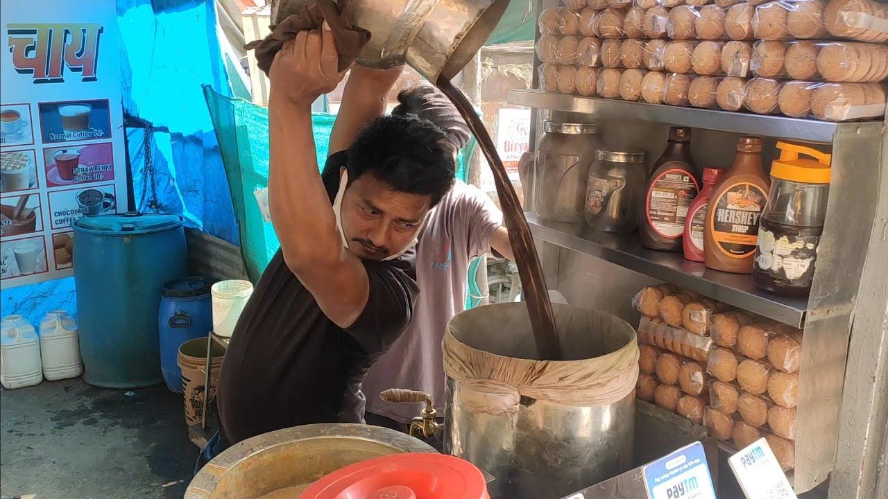 不要过分黑印度,这家印度街头奶茶就很干净卫生,奶香浓郁,超赞