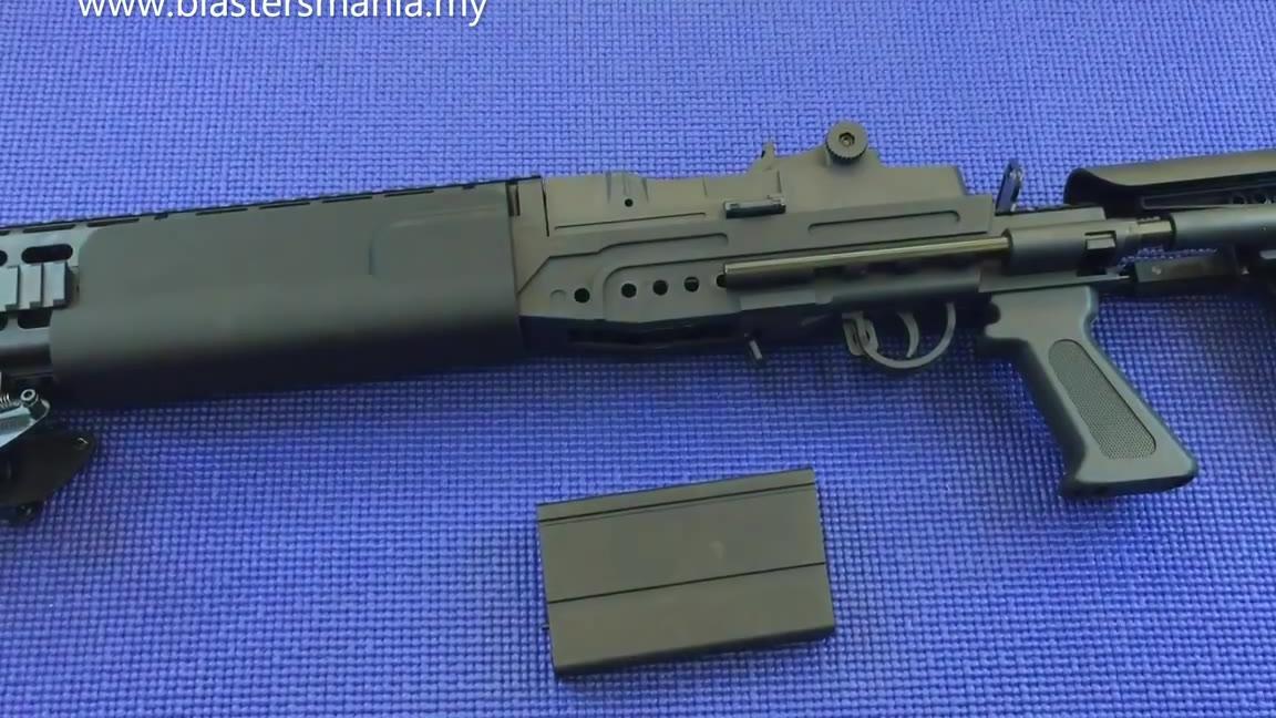 外国人的玩具——BING FENG M14 EBR