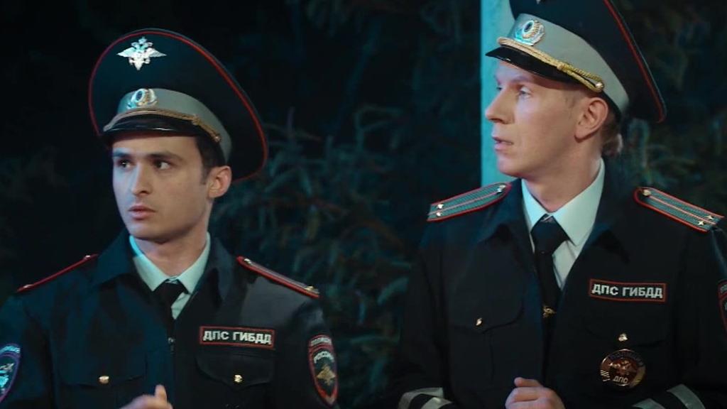 有一天,当你在俄罗斯干交警