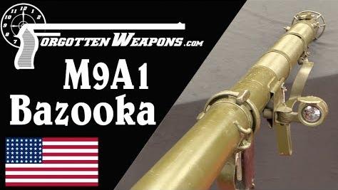 【被遗忘的武器/双语】自带瞄准镜的快拆巴祖卡: M9A1