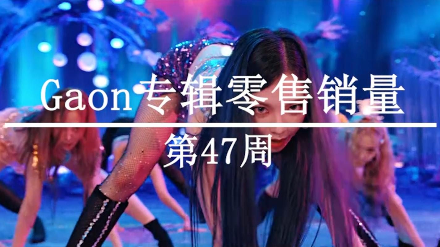 2020年韩国Gaon榜专辑零售销量周榜TOP20(第47周)