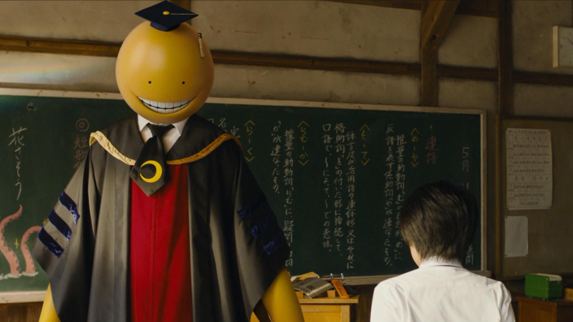 日本动漫最强班主任,学生杀掉他才能毕业,还能获得100亿赏金!