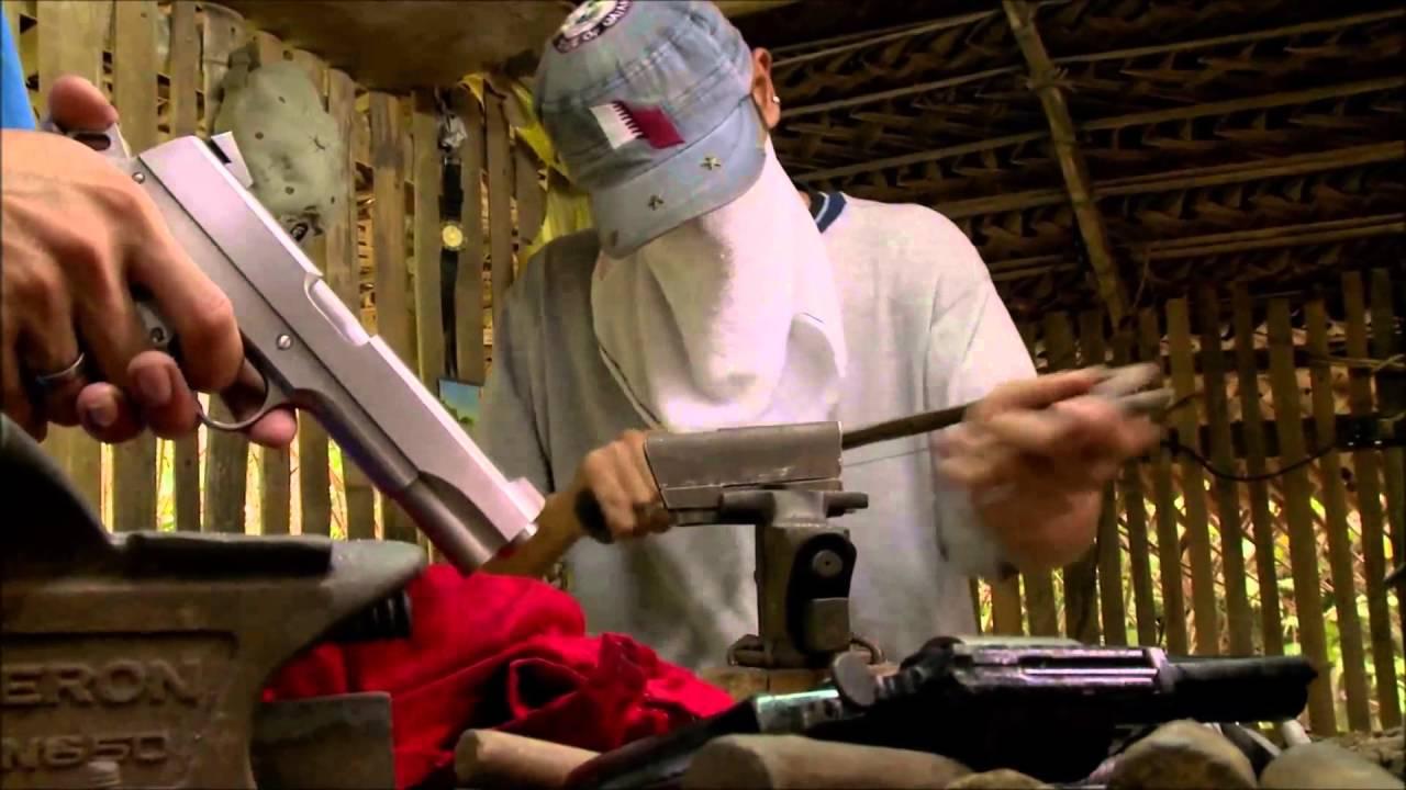 【中文字幕】菲律宾的非法枪支产业