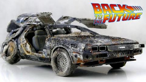 翻新一辆回到未来的模型车