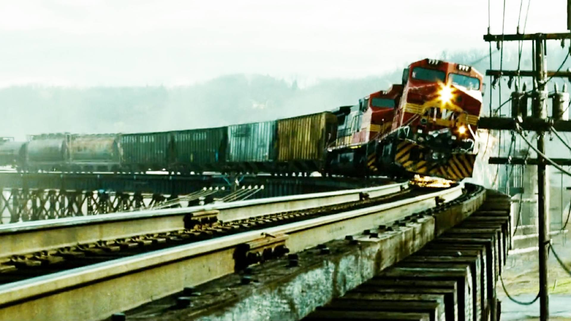 真实事件改编,一次违章操作,导致重万吨的火车事故
