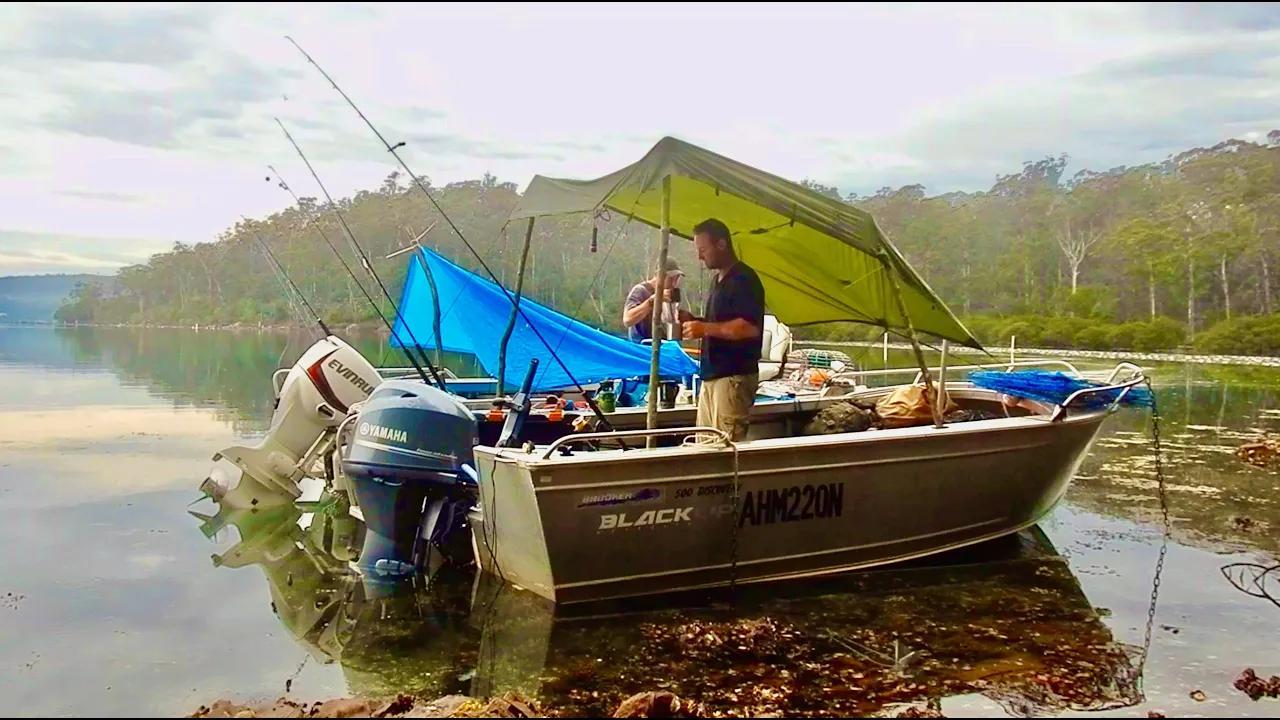 【欧美露营】南海岸梦想...乘船露营冒险...