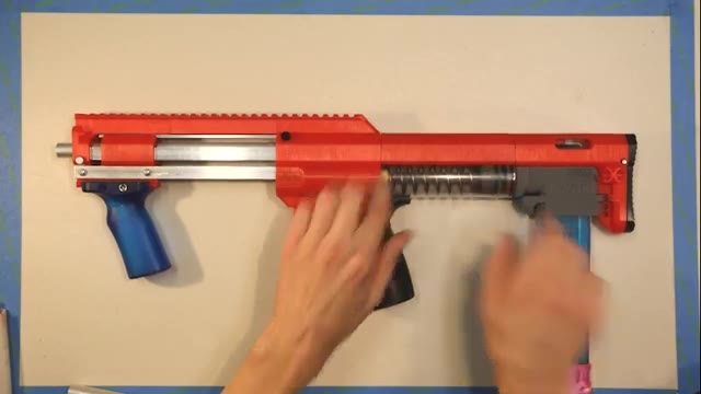Nerf Lynx 组装 By Orion Blasters