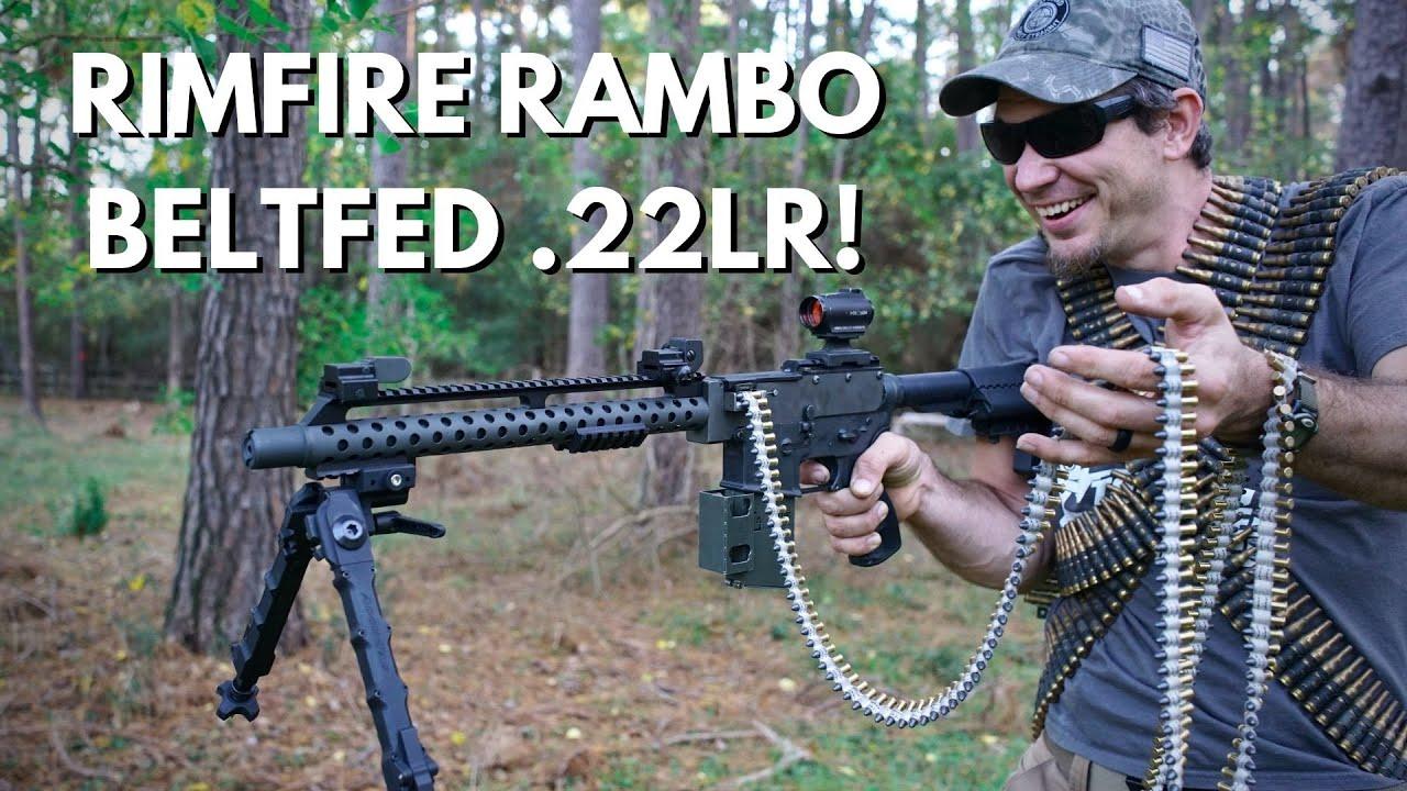 全自动.22口径机枪试用