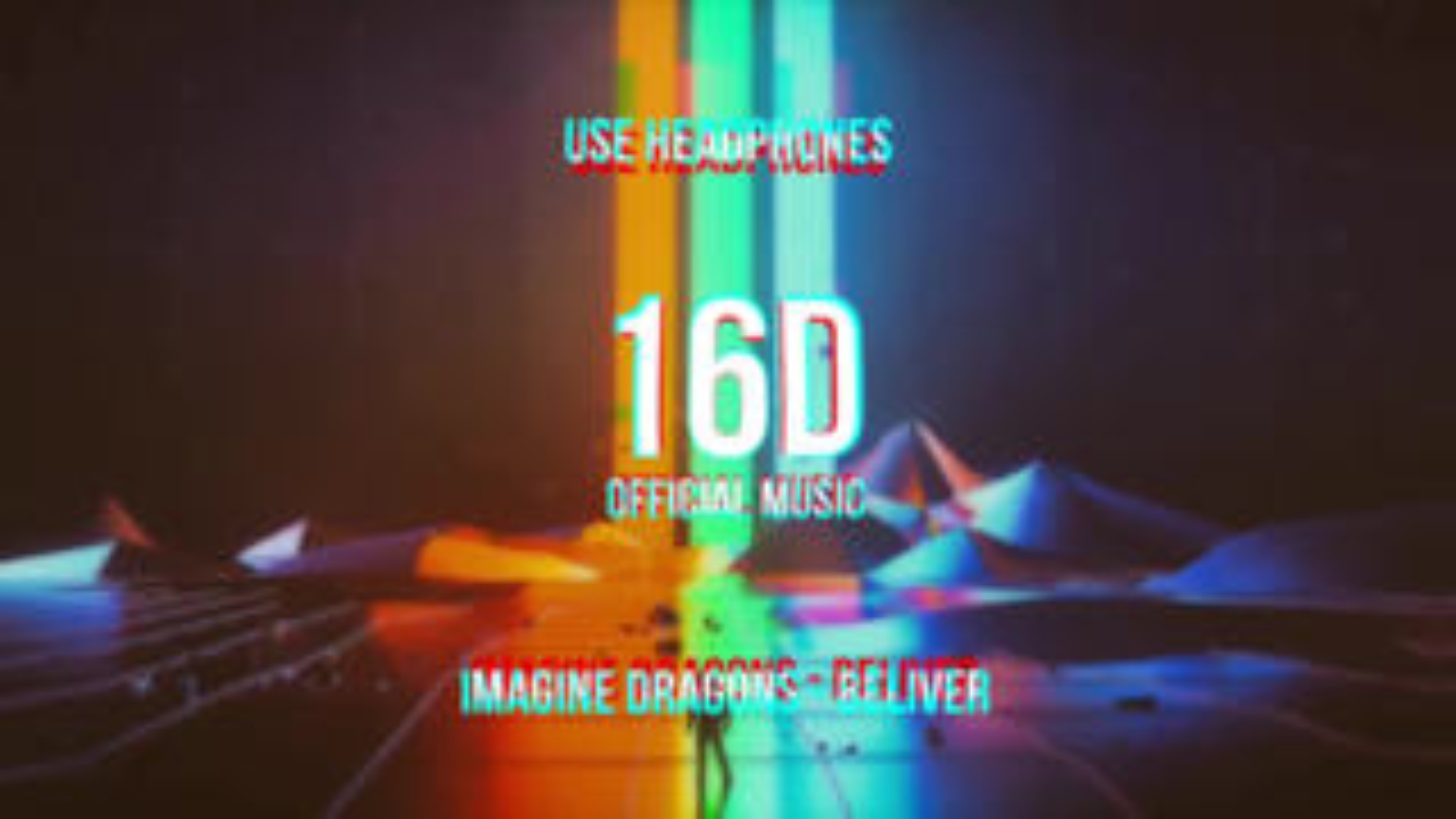 16D版《Believer-Imagine Dragons》,感觉音响就在你的耳边环绕着!