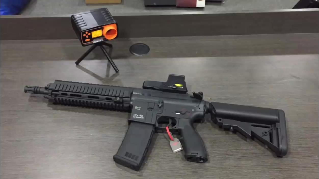 外国人的玩具——LDT HK416D V3.0