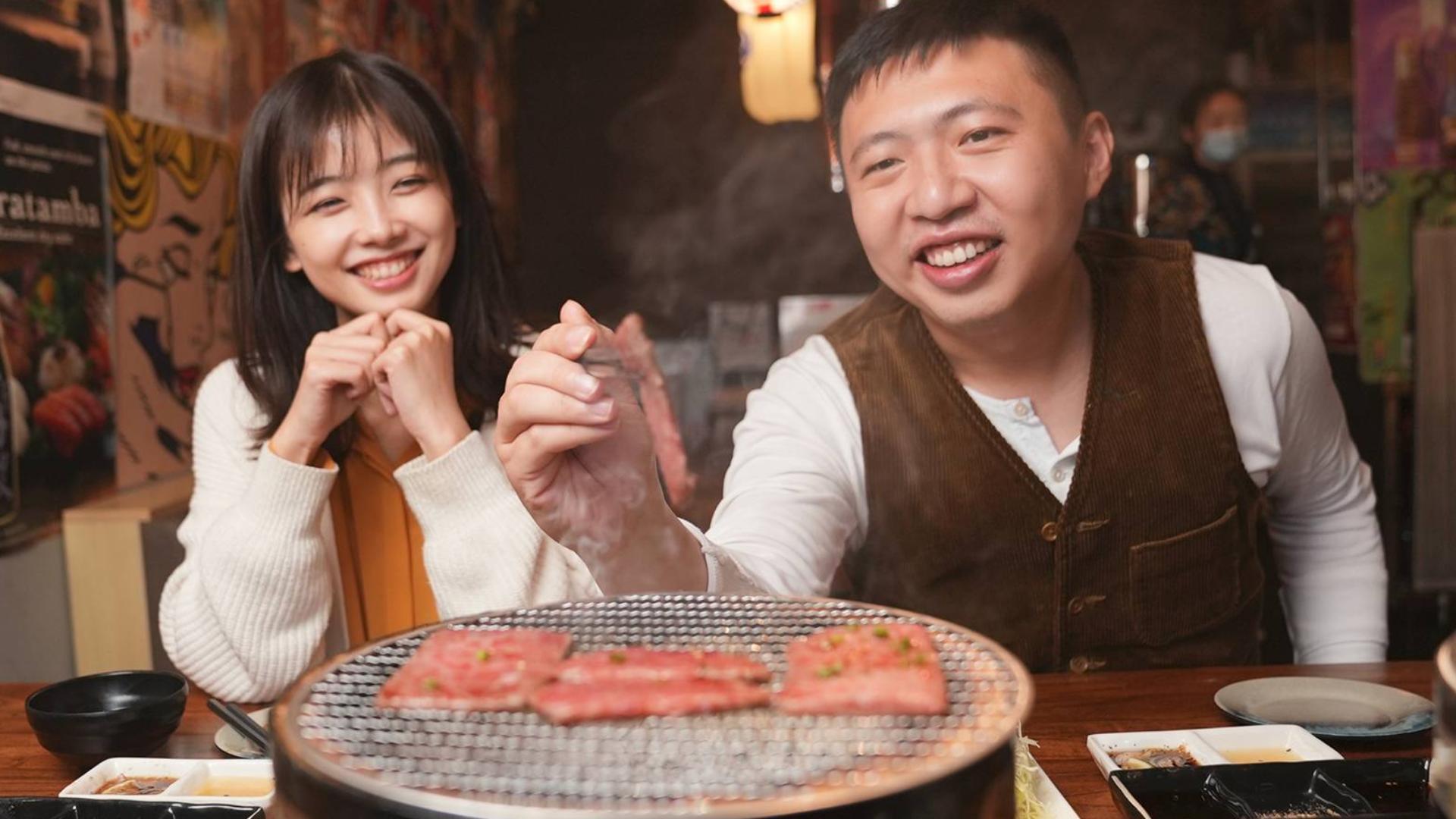 冬天吃日式烤和牛,我的心是暖暖的,你呢?