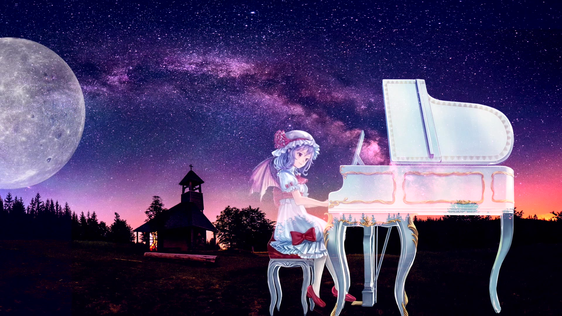 【东方】钢琴独奏 女仆与血时计 1小时助眠LIVE演奏【TAMUSIC】
