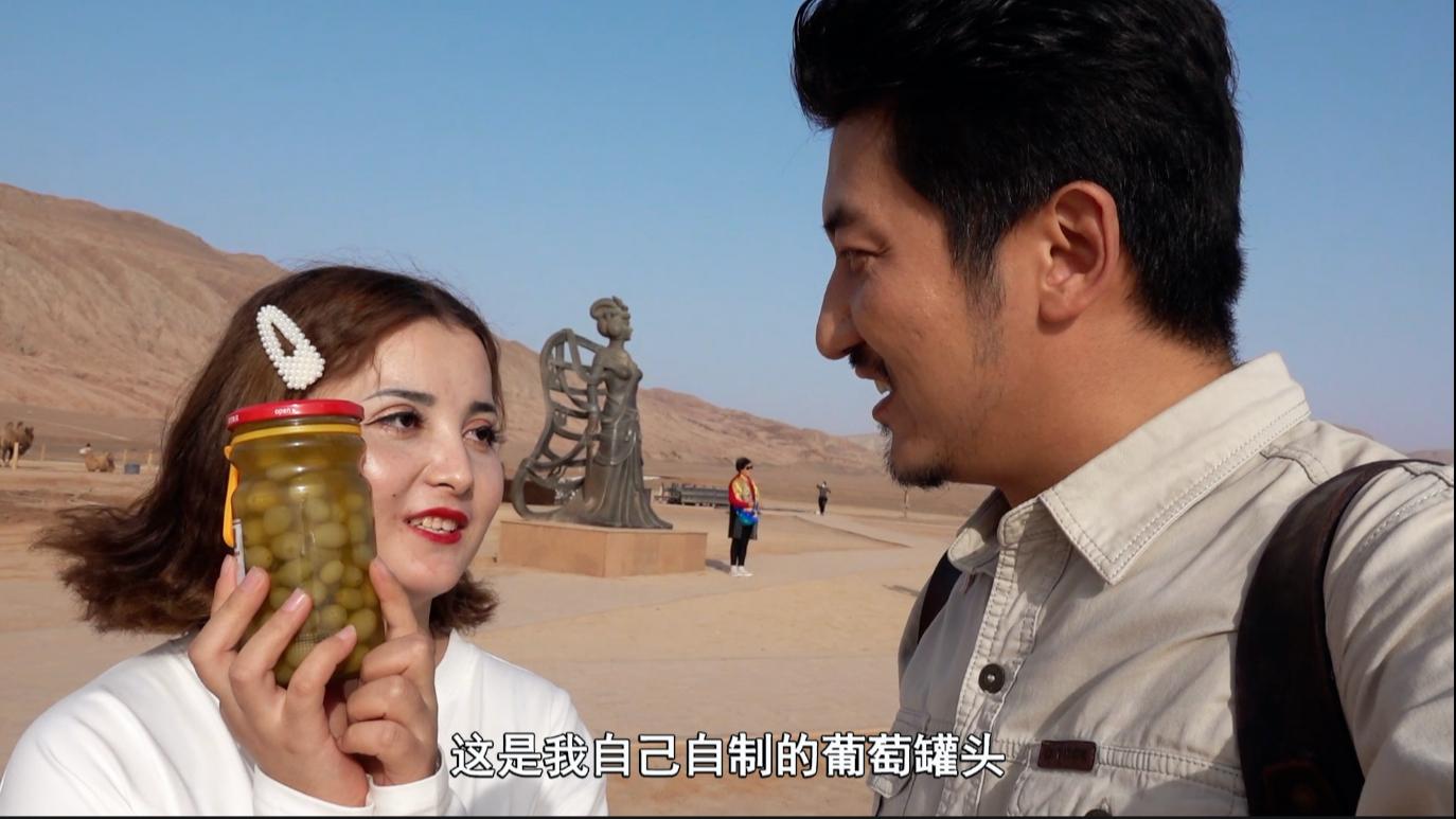 探秘新疆吐鲁番,人文遗产太多了,警察网友送我一盒手工罐头