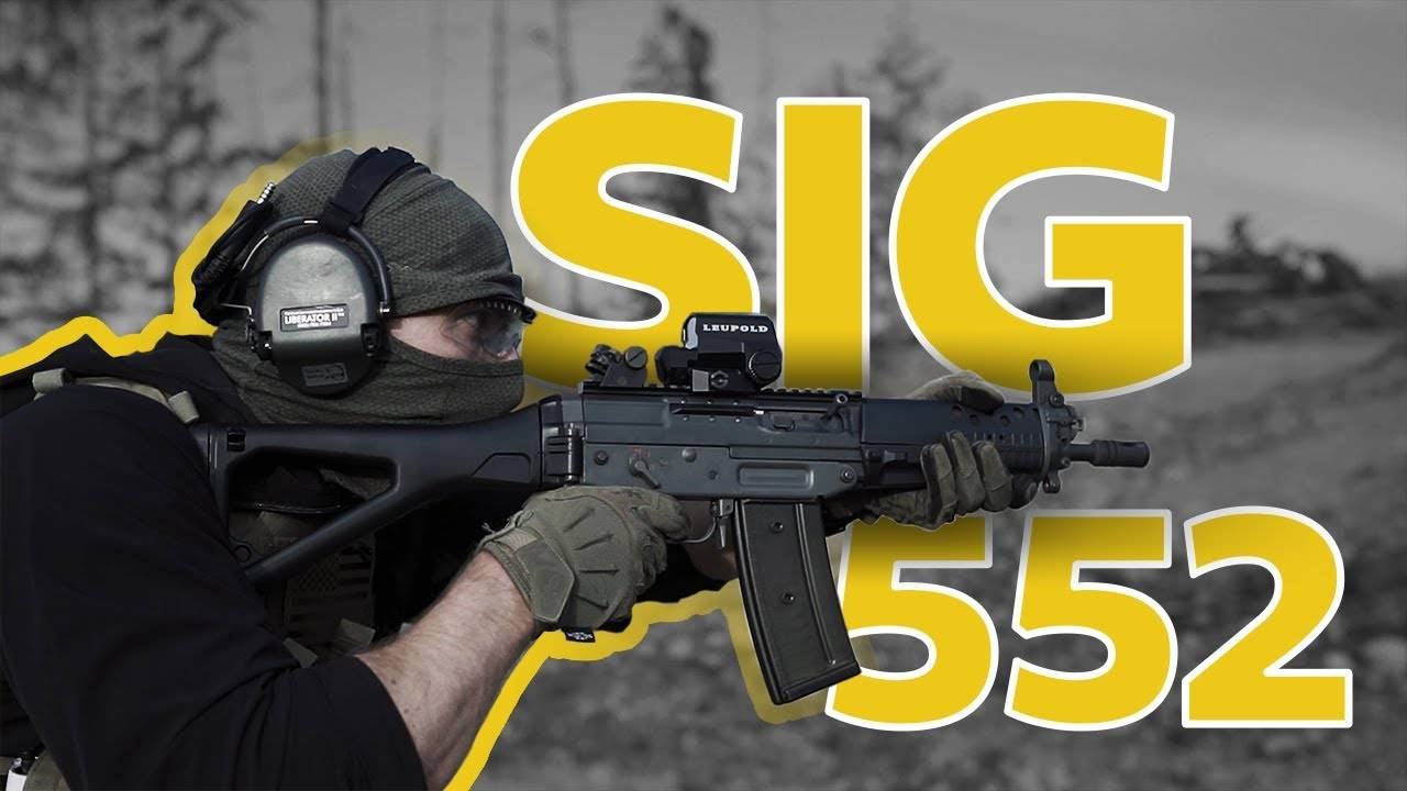 The Grau from COD is real- SIG 552