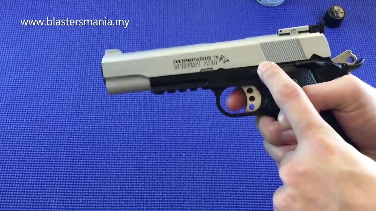 外国人的玩具——WELL TECH M1 1911